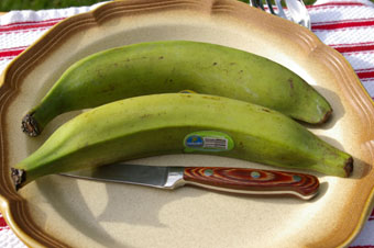2 plantains