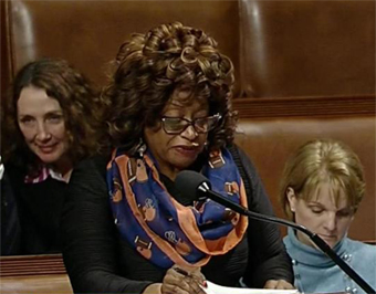 Corrine Brown at Congress