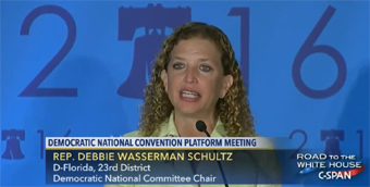 Wasserman-Schultz DNC Chair resigns