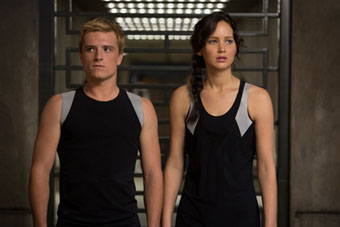 Scene from The Hunger Games: Catching Fire