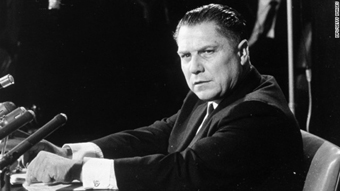 Jimmy Hoffa testifies