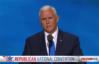 Mike Pence speech at RNC 2016