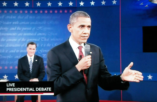 Obama & Romney debate October 16,2012