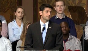 Paul Ryan, Convention Chair