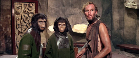 scene from Planet of the Apes
