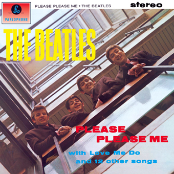 Please Please Me album cover art