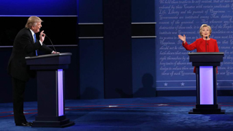 Donald Trump and Hillary Clinton Debate