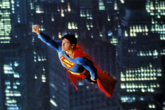 scene from Superman The Movie