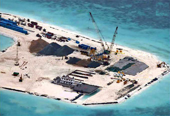 Chinese reef construction