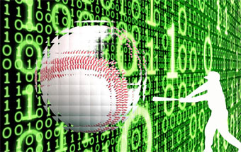 Photo illustration digital baseball by Thursday Review