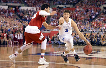 Grayson Allen, Duke vs Wisc
