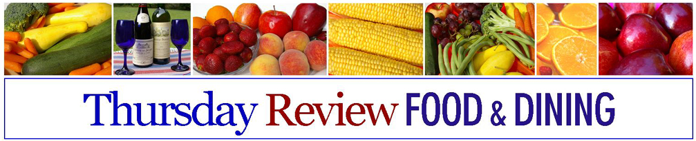 Thursday Review Food Banner
