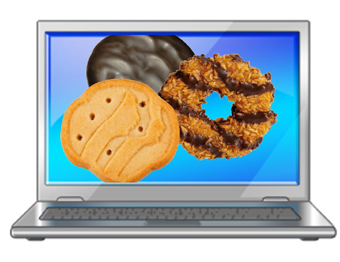 Girl Scout Cookies & computers
