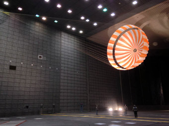 NASA parachute test