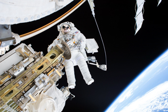 Tim Kopra's spacewalk