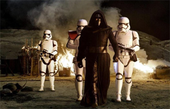 Storm Troopers and Kylo Ren