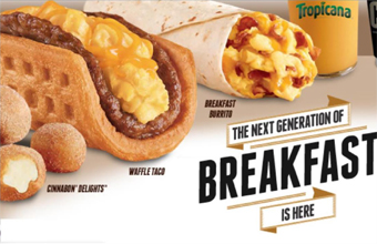 Taco Bell's new breakfast food