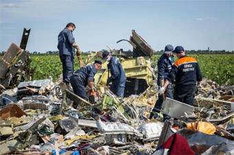 Ukraine jet crash
